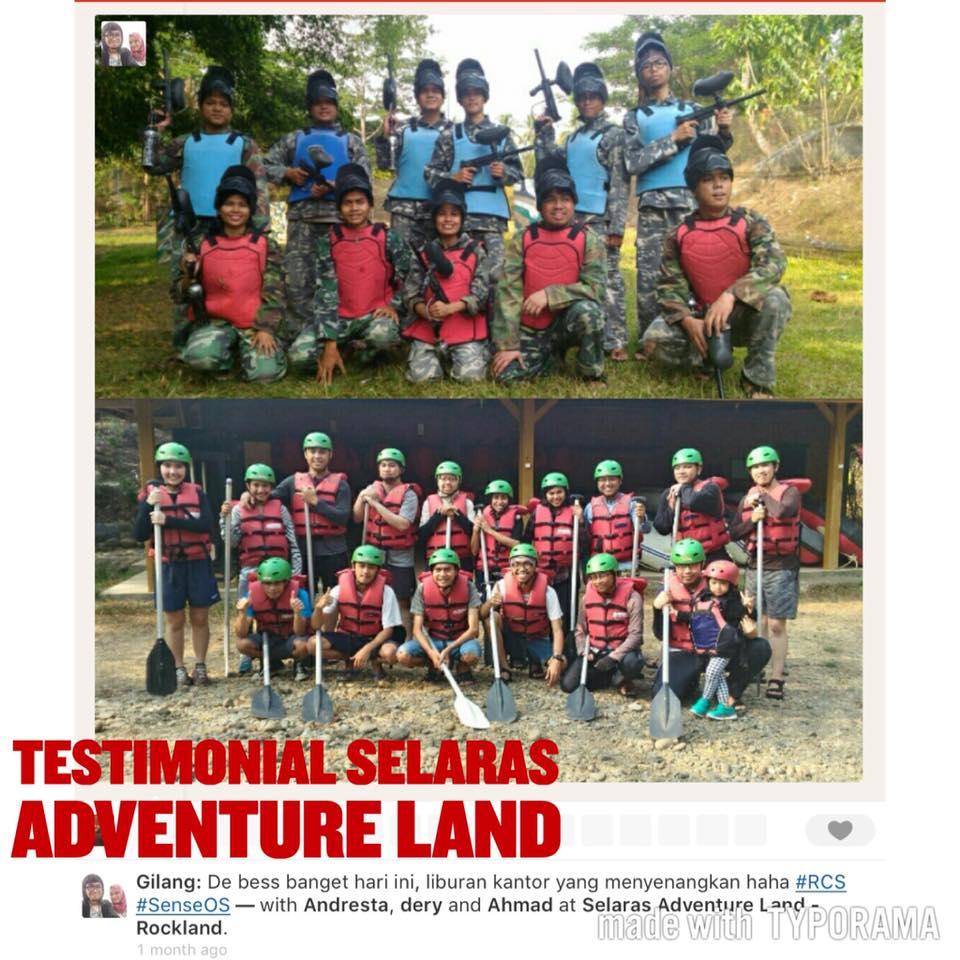 testimoni outing di selaras adventure land